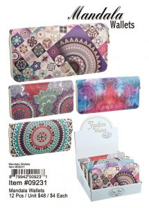 Mandala Wallets Wholesale