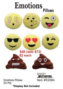 Emoticons Pillow Kit NOW ON CLEARANCE