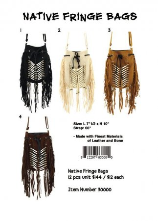 Native Fringe Bags Wholesale