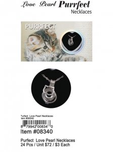 Love Pearl Purrfect Necklaces Wholesale