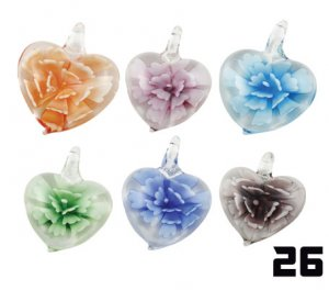 Wholesale Murano Glass Pendants #26 - BOXED