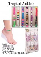 Tropical Anklets Wholesale