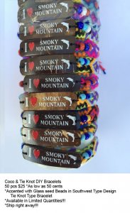 Smoky Mountain Coco Bracelets Wholesale