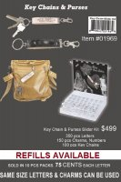 DIY Keychains and Purses Slider Concepts KIT
