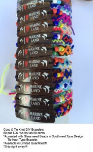 Marine Land Coco Bracelets Wholesale