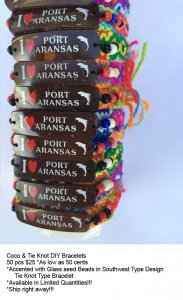 Port Aransas Coco Bracelets Wholesale