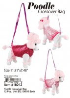 Poodle Crossover Bag Wholesale