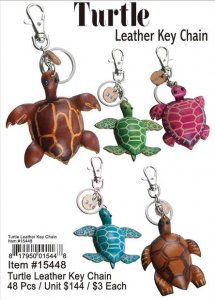Turtle Leather Key Chain Wholesale