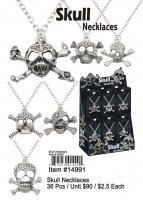 Skull Necklaces Wholesale