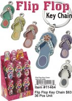 Flip Flop Key Chains Wholesale