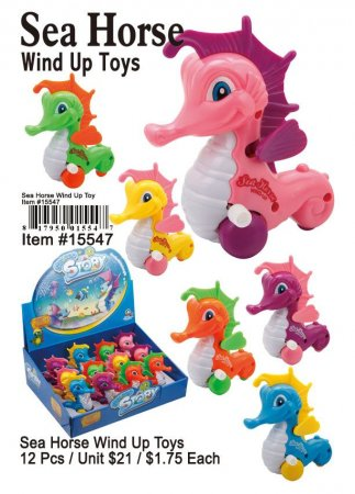Wholesale Sea Hores Wind Up Toys