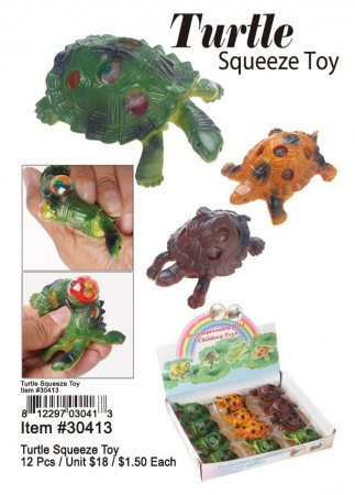 Turtle Squeeze Toy Wholesale