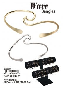 Wave Bangles Wholesale