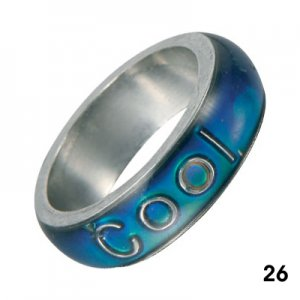 Wholesale Mood Rings - Style 26 - Cool