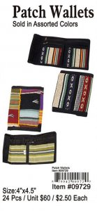 Patch Wallets Wholesale