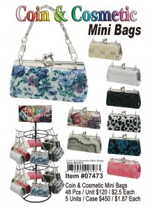 Wholesale Coin&Cosmetic Purses