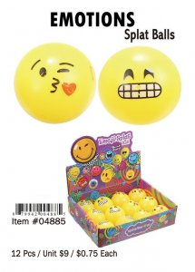 Emotions Splat Balls Wholesale