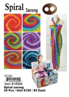 Spiral Sarongs Wholesale