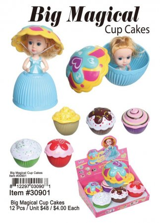 Big Magical Cup Cakes Wholesale