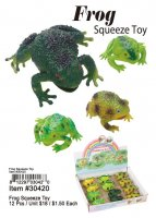 Frog Squeeze Toy Wholesale