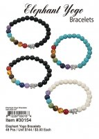 Elephant Yoga Bracelets Wholesale