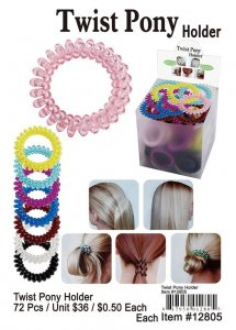 Twist Pony Holder Wholesale
