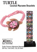 Turtle Coconut Macrame Bracelets Wholesale