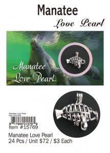 Love Pearl Sea Life Manatees Wholesale