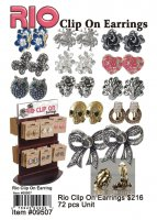 Wholesale Rio Clip On Earrings