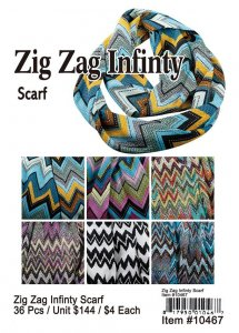 Fashion jewelry scarves pashminas wholesale zigzag infinity scarves now on clearance mozeypictures Choice Image