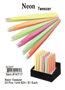 Neon Tweezers Wholesale