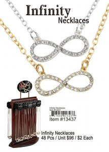 Infinity Necklaces NOW ON CLEARANCE