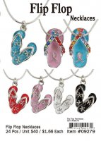 Children's Flip Flop Necklaces Wholesale