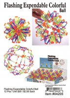 Flashing Expandable Colorful Ball Wholesale