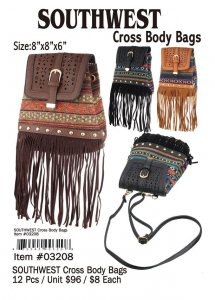 Southwest Cross Body Bag Wholesale