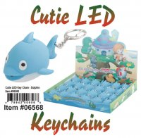 Wholesale Cuties Led Key chains
