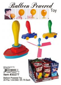 Balloon Powered Toy Wholesale