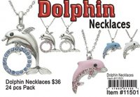 Dolphin Necklaces Wholesale