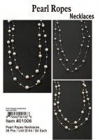 Pearl Ropes Necklaces Wholesale