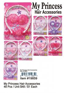 My Princess Hair Accessories NOW ON CLEARANCE