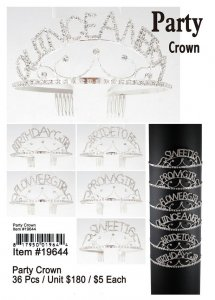 Party Crowns NOW ON CLEARANCE