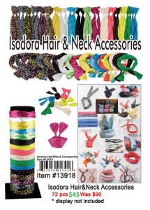 Isodora Hair Neck Accessories ON CLEARANCE