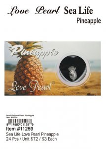Love Pearl Sea Life Pineapple Wholesale