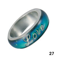 Wholesale Mood Rings - Style 27 - Love