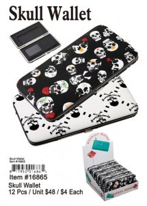 Skull Wallets Wholesale