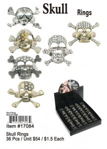 Skull Rings NOW ON CLEARANCE