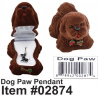 Cuties Dog Paw Pendant Wholesale
