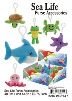 Sea Life Purse Accsessories Wholesale