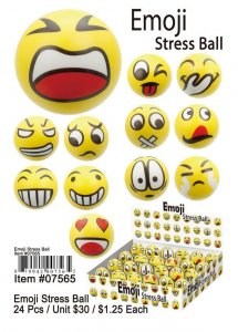 Emoji Stress Balls Wholesale