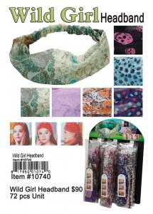Wild Girl Head Band Wholesale
